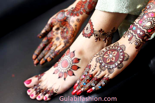 simple arabic mehndi designs images